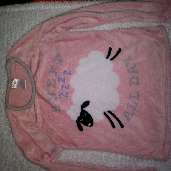 Fleece pj top or wore it in day